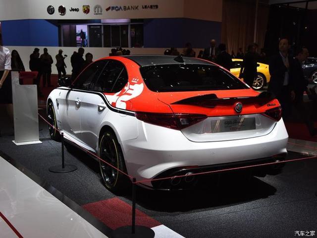 阿尔法·罗密欧 Giulia 2019款 Quadrifoglio QV赛车版