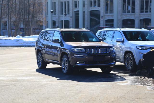 Jeep大指挥官实车亮相 或将4月正式上市