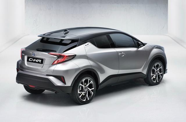 丰田全新小型SUV C-HR官图 跑车化造型前卫