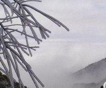 冬日游衡山赏雪韵 感受银装素裹之美