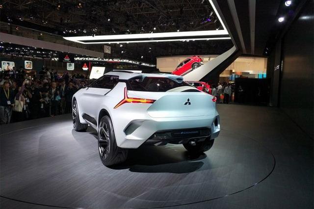 最强轿跑SUV 三菱e-EVOLUTION概念车发布