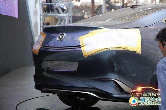 上海车展探营报道 马自达SHINARI概念车曝光