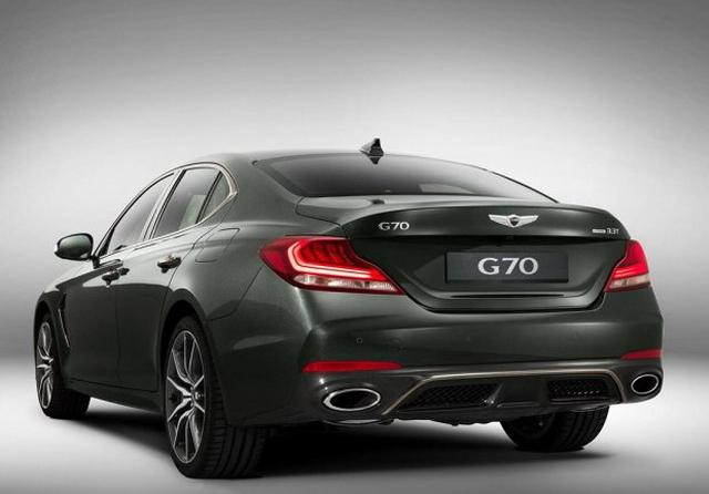 宝马3系/疾驰C级新对手 Genesis G70正式公布