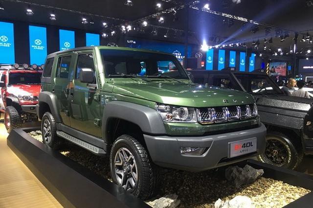 经典硬派越野 北京BJ40L柴油版2018年上市
