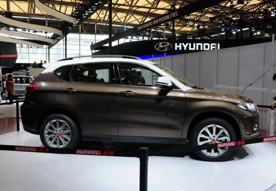 哈弗H2车展正式发布 预计于年内正式上市