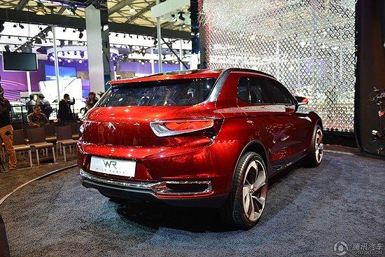 [新车解析]DSX跨界概念车首发 或明年上市