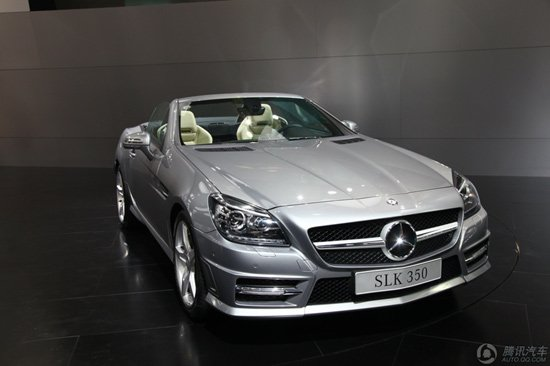 奔驰新一代SLK车展上市 售60.8-93.8万元