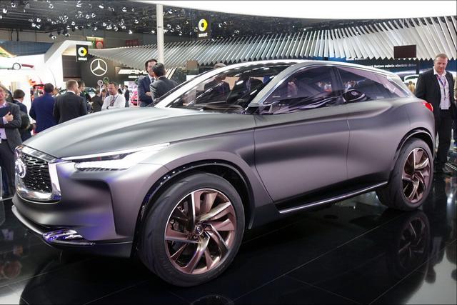 2016巴黎车展:英菲尼迪轿跑风格SUV亮相