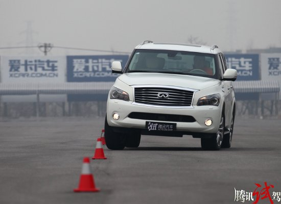 英菲尼迪qx80 英菲尼迪 评测中心 腾讯汽车 高清图片