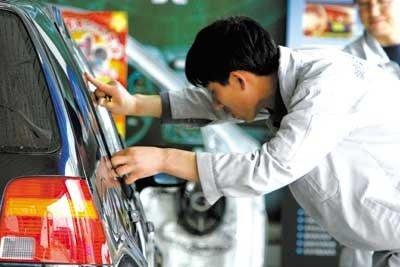 爱美也爱车 专家揭示正确汽车贴膜养护方法