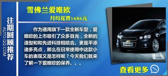 天语SX4用车成本调查:月均花费2355元