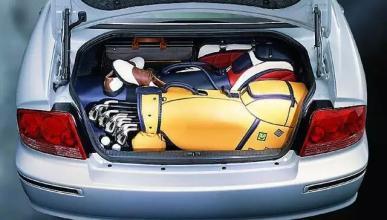 防盗真得注意 汽车后备箱不是保险箱高清图片