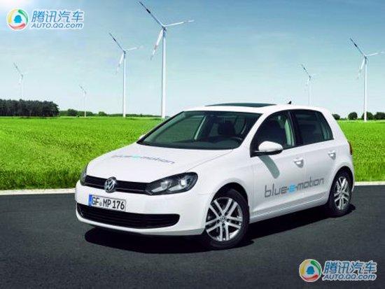 一汽大众高尔夫Blue-e-Motion上海车展首发