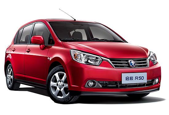 [新车发布]启辰D50两厢版定名R50 9月上市