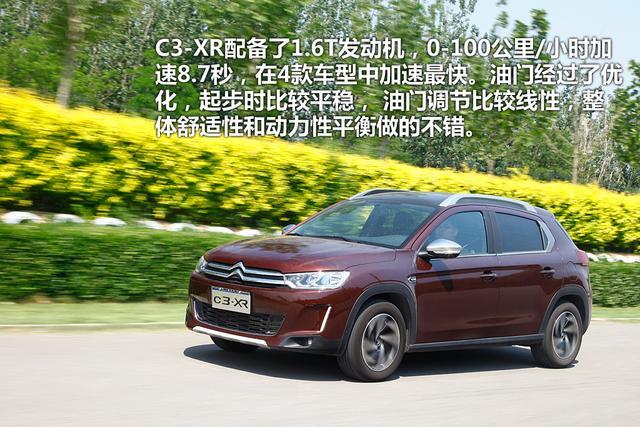 四款时尚小型SUV车型体验-雪铁龙C3-XR-谁最了解消费者的心 时尚小高清图片