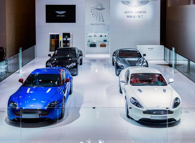 阿斯顿马丁车型闪耀亮相2014成都车展