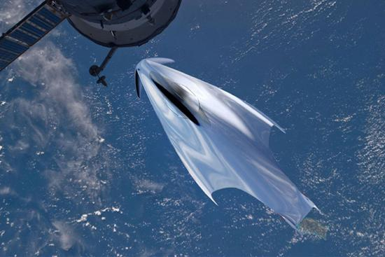 法拉利打造未来概念太空飞船图片