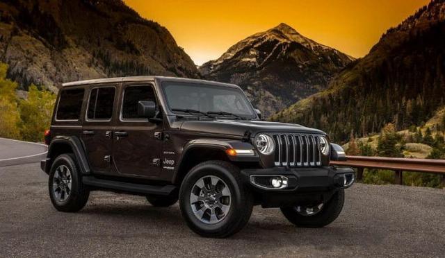 延续经典设计 全新Jeep牧马人官图发布