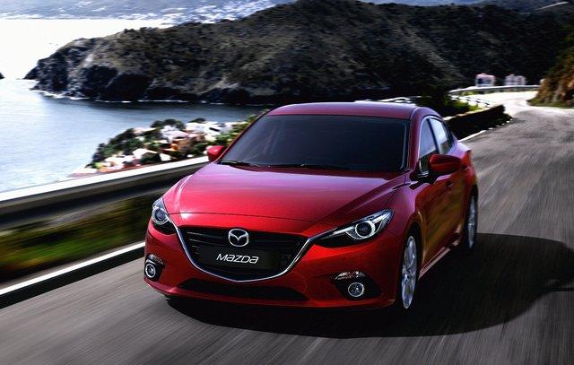 全新Mazda3借广州车展完成在华首秀