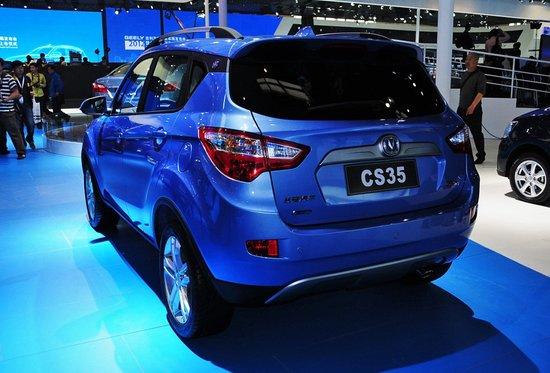 [新车解析]长安首款SUV车型CS35首发亮相