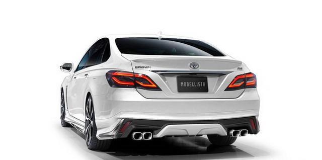 全新外观套件 皇冠将推Modellista版车型