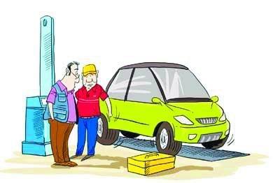 夏季汽车轮胎也需保胎 常看胎压是关键