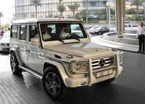 迪拜酋长的1号座驾奔驰G55 AMG