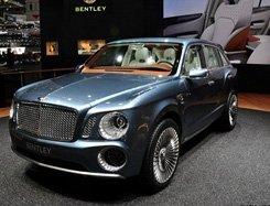 宾利EXP 9F SUV概念车进行亚洲及中国首发