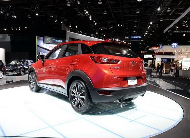 马自达CX-3部分配置曝光 或售13-16万元