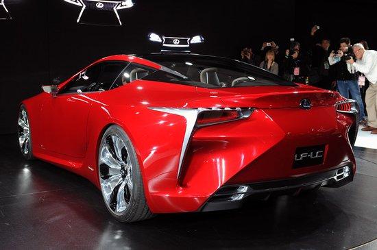 [新车解析]雷克萨斯LF-LC跑车正式发布