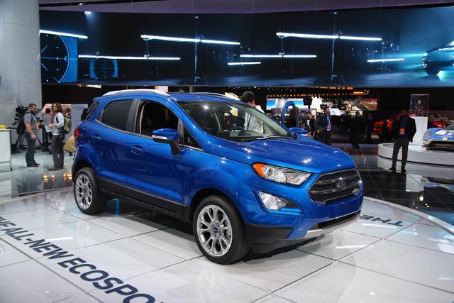 福特正式发布新款入门级SUV 将同步国产入华