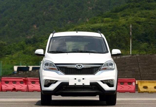 曝北汽幻速全新MPV实车 或定名幻速H3