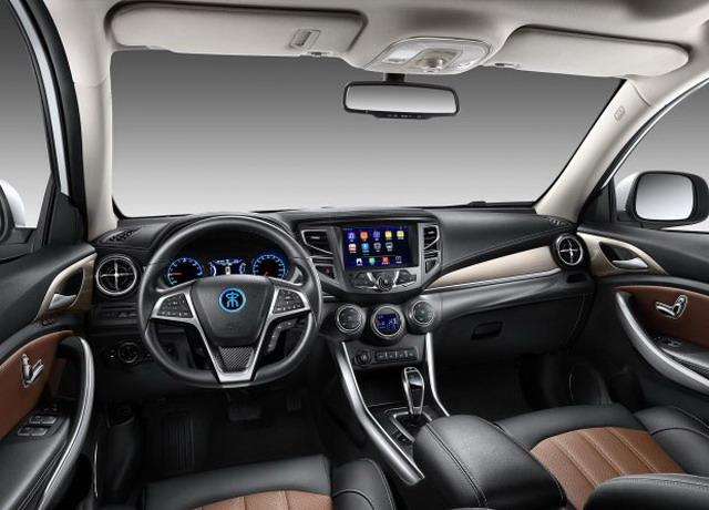 比亚迪宋EV400官图发布 综合续航360公里
