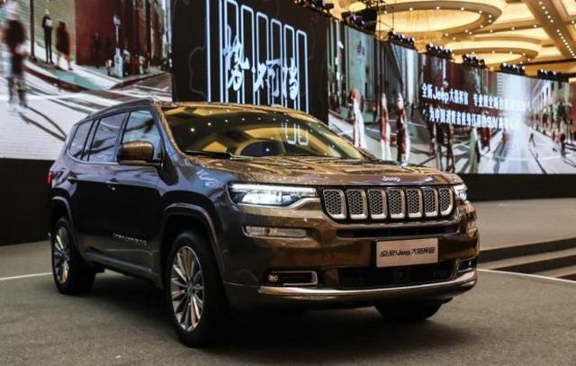 Jeep大指挥官首次亮相 将于二季度上市