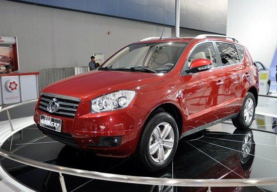 [国内车讯]吉利首款SUV北京车展全系上市