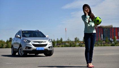 北京现代ix35--外形空间都适合