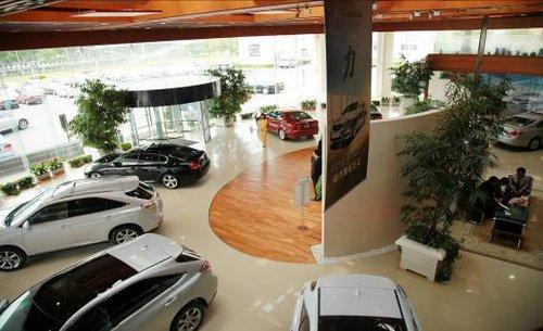 优雅尊崇的汽车生活艺术馆---博瑞雷克萨斯