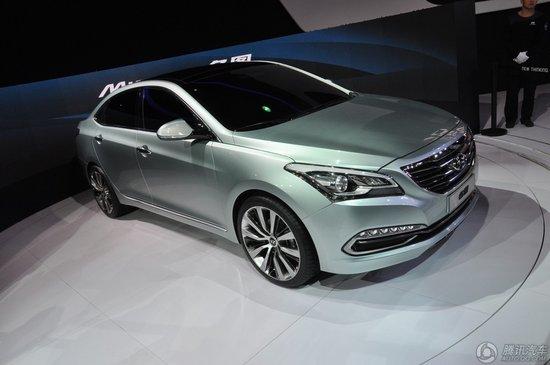 [新车解析]北京现代名图上海车展首发亮相