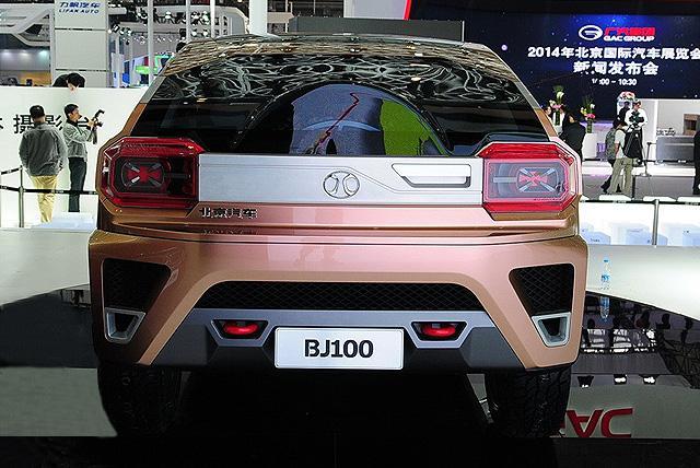 北汽BJ100旗舰SUV或明年投产 搭混动系统