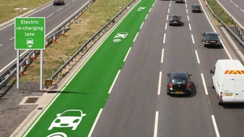 英国人打算在高速公路上修建无线充电车道
