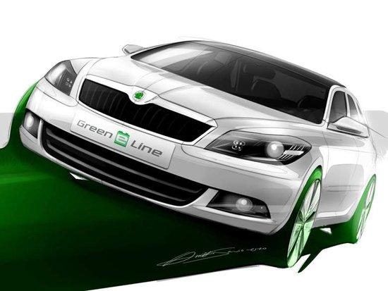 斯柯达汽车全新企业形象亮相上海国际车展