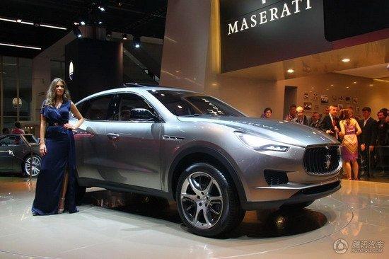 玛莎拉蒂SUV法兰克福车展首发 定名Kubang