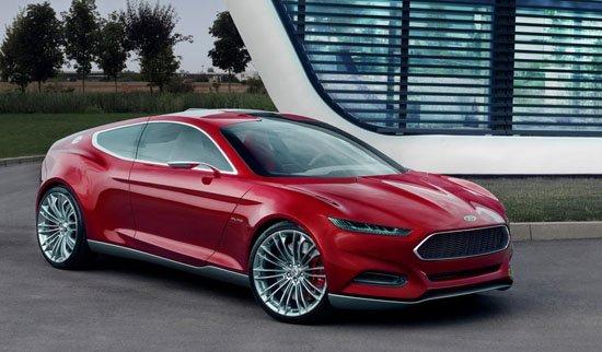 福特发布未来前瞻概念车 法兰克福车展首发