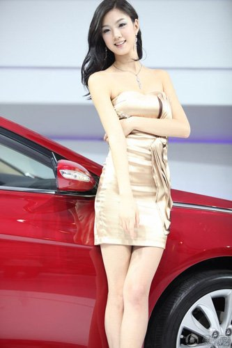 2010广州车展车模评选三项大奖出炉