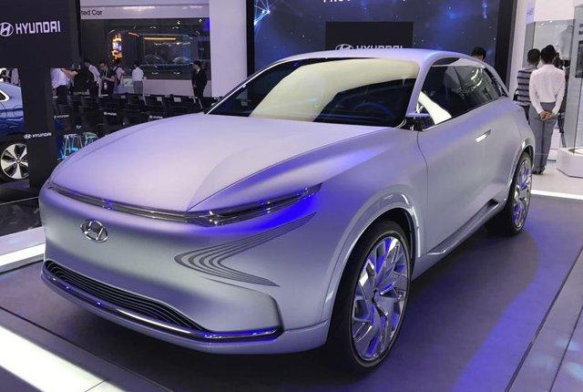现代汽车CES ASIA 2017详解未来Mobility战略