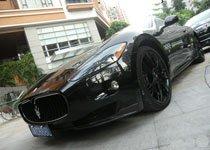 专卖店前实拍玛莎拉蒂GTS MC SportLine