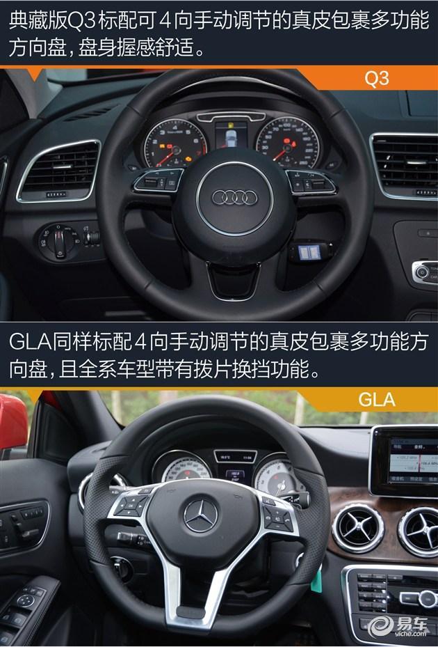 改款升级老对手再战 奥迪q3对比奔驰gla _汽车_腾讯网图片