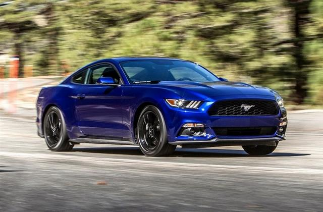 福特野马V8车型上市 售75.8万 76.4万元高清图片