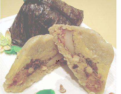 广州名吃:肇庆裹蒸棕(图)