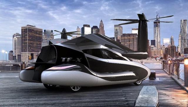 要上天!无人驾驶还不够 谷歌创始人研发飞行汽车